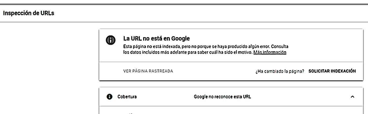Una vez que creas tu sitio web debes informar a google que tienes un nuevo sitio